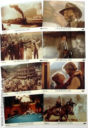 Heaven's Gate 1980 lobby card set Kris Kristofferson Michael Cimino