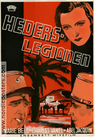 Légions d´honneur 1938 poster Marie Bell Maurice Gleize