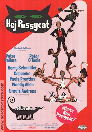 What´s New Pussycat 1965 poster Peter Sellers