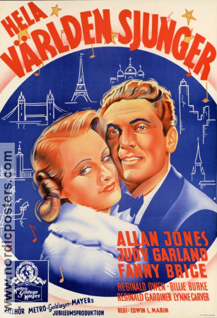 Everybody Sing 1938 Allan Jones Judy Garland Fanny Brice