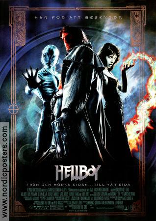 Hellboy poster 2004 Ron Perlman original
