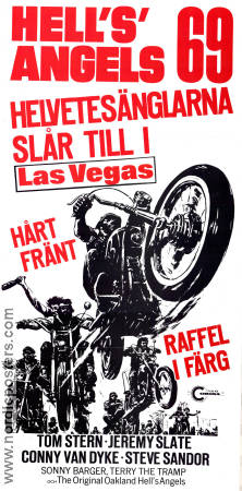 Hell's Angels 69 1969 poster Tom Stern