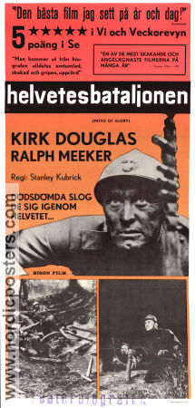 Paths of Glory 1957 poster Kirk Douglas Stanley Kubrick