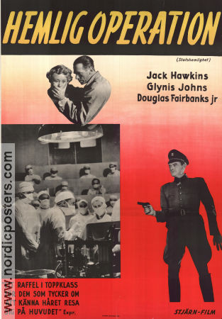 State Secret 1950 Jack Hawkins Douglas Fairbanks Jr