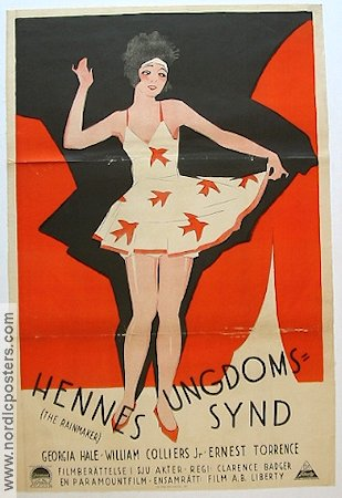 The Rainmaker 1927 poster Georgia Hale