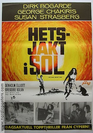 The High Bright Sun 1965 poster Dirk Bogarde