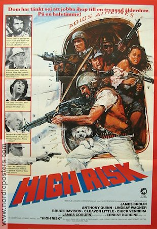 High Risk 1982 poster James Brolin