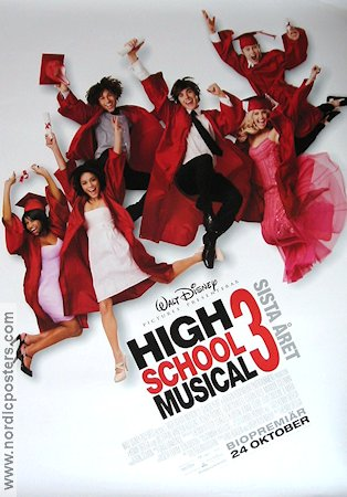 High School Musical 3 2008 poster Zac Efron