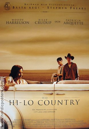 Hi-Lo Country 1998 Woody Harrelson Billy Crudup Patricia Arquette