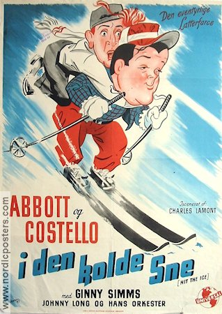 Hit the Ice 1948 poster Abbott and Costello