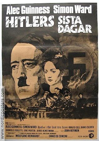 Hitler the Last Ten Days 1973 poster Alec Guinness