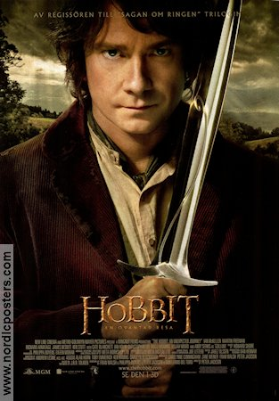 The Hobbit An Unexpected Journey 2012 poster Martin Freeman Peter Jackson