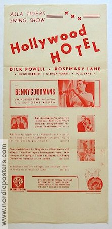 Hollywood Hotel 1939 Busby Berkeley Dick Powell Benny Goodman