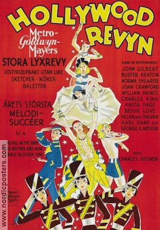 The Hollywood Revue of 1929 1929 poster John Gilbert