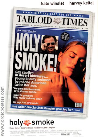 Holy Smoke 1999 poster Kate Winslet Jane Campion