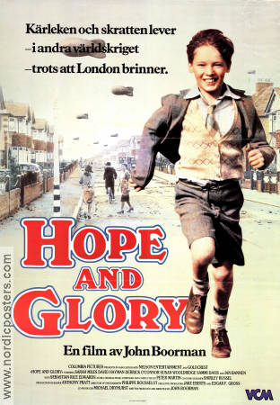 Hope and Glory 1987 poster Sarah Miles John Boorman