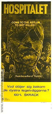 Asylum 1973 poster Peter Cushing Roy Ward Baker