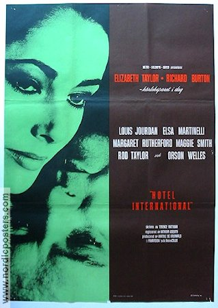 V.I.P.S. 1963 Movie poster Elizabeth Taylor