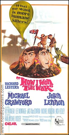 How I Won the War 1968 poster John Lennon Richard Lester