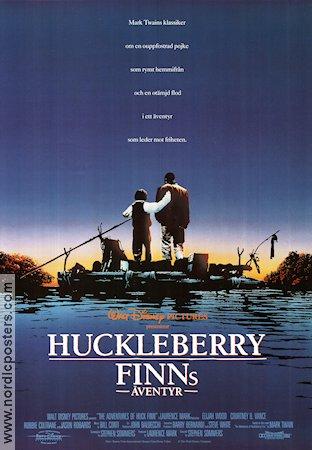 HUCKLEBERRY FINNS ÄVENTYR The Adventures of Huck Finn ...