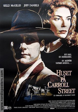 The House on Carroll Street 1988 poster Kelly McGillis Peter Yates