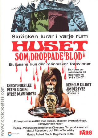 The House That Dripped Blood 1971 poster Christopher Lee Peter Duffel