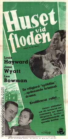 House by the River 1950 poster Louis Hayward Fritz Lang