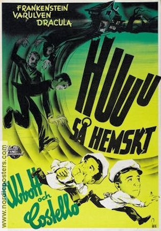 Abbott and Costello Meet Frankenstein 1948 poster Abbott and Costello