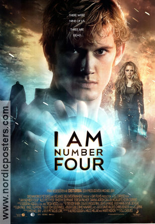 I Am Number Four 2011 poster Alex Pettyfer DJ Caruso