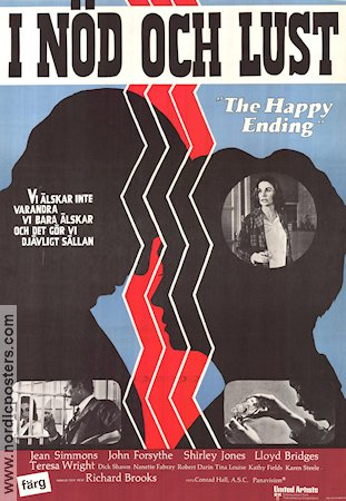 The Happy Ending 1970 poster Jean Simmons