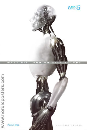 I Robot 2004 Movie poster Will Smith