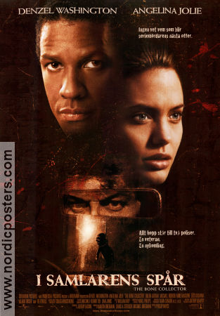 The Bone Collector 1999 Movie poster Denzel Washington