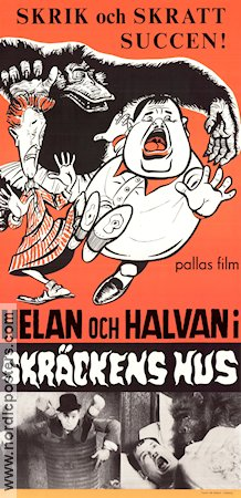 Oliver the Eighth 1934 Movie poster Helan och Halvan