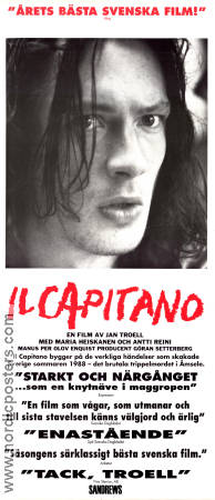 Il Capitano 1991 Movie poster Antti Reini Jan Troell