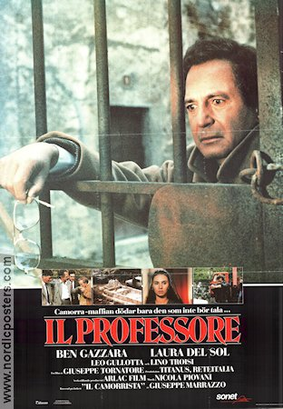 Il Camorrista 1985 Movie poster Ben Gazzara