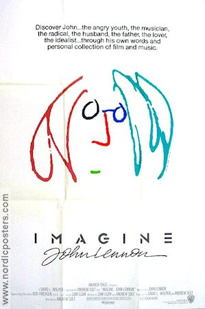 Imagine 1988 Movie poster John Lennon