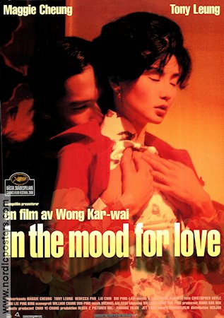 In the Mood for Love 2000 Movie poster Maggie Cheung Kar Wai Wong