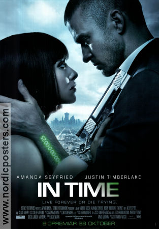In Time 2011 poster Justin Timberlake Andrew Niccol