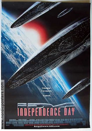 Independence Day 1996 Will Smith Bill Pullman Jeff Goldblum