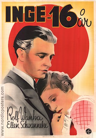 Arme kleine Inge 1936 Movie poster Rolf Wanka