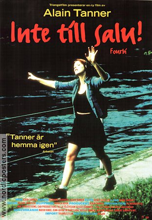 Fourbi 1996 Movie poster Karin Viard Alain Tanner