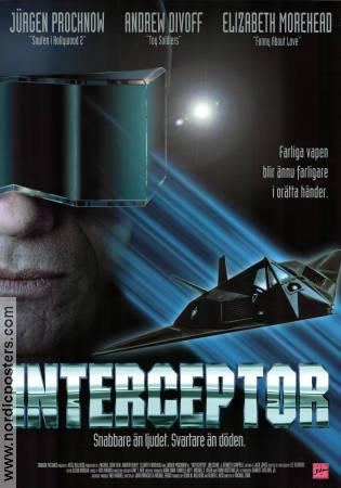 movie posters andrew divoff interceptor 1992 original