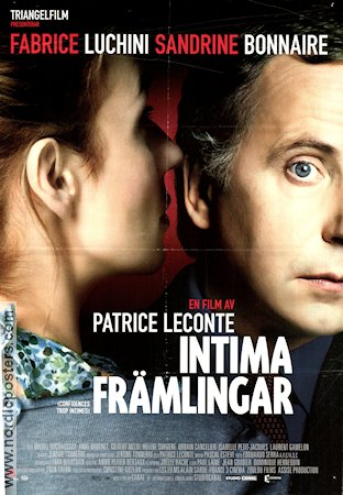 Confidences trop intimes 2004 poster Fabrice Luchini Patrice Leconte