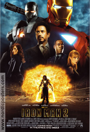 Iron Man 2 2010 Movie poster Robert Downey Jr