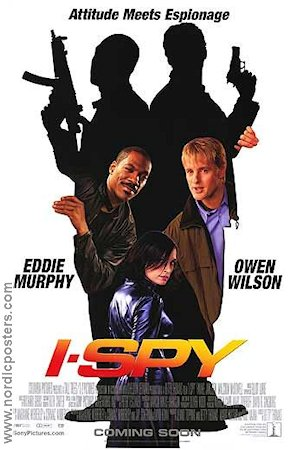 I-Spy 2002 Movie poster Eddie Murphy