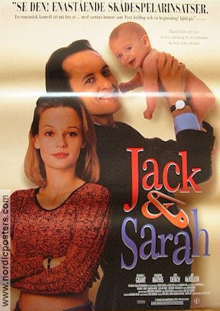 Jack and Sarah 1995 poster Richard Grant