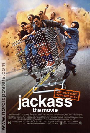 Jackass the Movie 2002 poster Johnny Knoxville Jeff Tremaine