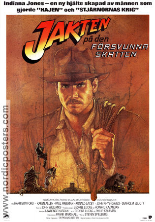 See a larger version of Raiders of the Lost Ark