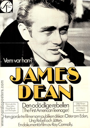 The First American Teenager 1976 poster James Dean