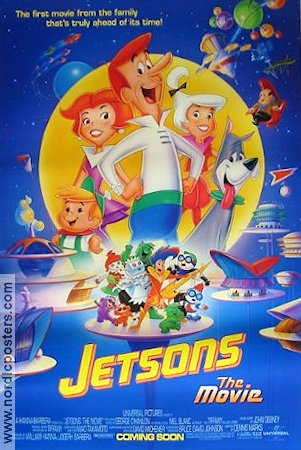 Jetsons the Movie 1990 Movie poster